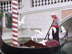 Gondola at the Venetian?