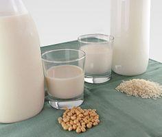 Lapte din orez si soya