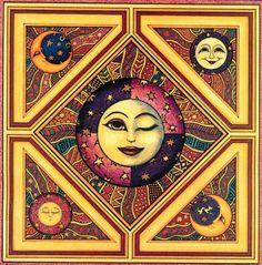 Солнце+Орнамент+Луна . Обсуждение на LiveInternet - Российский Сервис Онлайн-Дневников