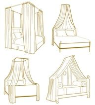 """""""10 Ways to get the Canopy Look without Buying a New Bed"""""""