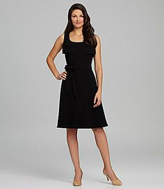 Alex Marie Dacie Tiered Sash Dress #Dillards