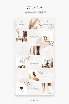 Ig Feed Ideas, Instagram Feed Ideas Posts, Instagram Feed Layout, Feeds Instagram, Instagram Grid, Instagram Post Template, Instagram Mosaic, Instagram Design, Web Design