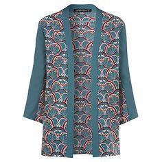 Buy Sugarhill Boutique Deco Bird Kimono, Green Online at johnlewis.com
