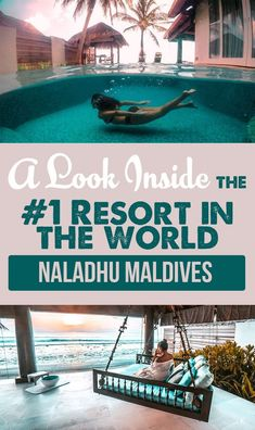 Take a look inside the resort that was voted in the world! We stayed here during our anniversary trip to The Maldives. Visit Maldives, Maldives Travel, Maldives Destinations, Travel Destinations, Bungalows, Vacation Trips, Vacation Spots, Vacation Ideas, Asia Travel