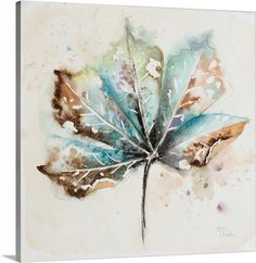 Metaverse Global Leaves I by Patricia Pinto Canvas Art Canvas Artwork, Canvas Art Prints, Framed Artwork, Wall Art, Canvas Canvas, Temporary Wallpaper, Autumn Art, Baby Clothes Shops, Online Art