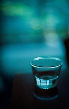 glass ~ teal