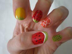 10 year old girls dream fingernails!