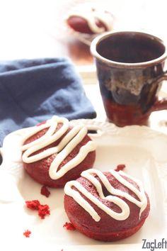 Small Batch Red Velvet Donuts