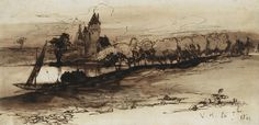 Виктор Гюго не только знаменитый писатель, но и талантливый художник
