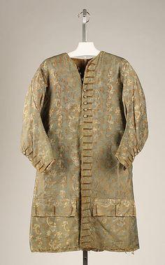 Coat, c. 1750, French.  Interesting.