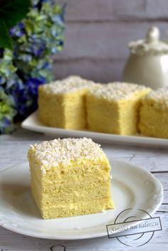 Aniołek – Smaki na talerzu Polish Recipes, Polish Food, Happy Foods, Food Cakes, Cornbread, Vanilla Cake, Ale, Cake Recipes, Good Food