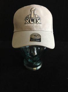 NFL Super Bowl Hat XLIX New England Patriots 47 Brand Arizona One Size Cap  New  9d0c05ba09e8