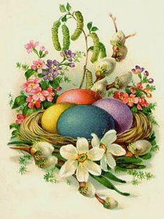 Shop retro vintage Easter eggs basket decor poster created by DoodlesHolidayGifts. Easter Egg Basket, Easter Eggs, Easter Bunny, Easter Art, Easter Crafts, Vintage Greeting Cards, Vintage Postcards, Vintage Images, Retro Vintage
