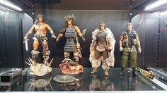 Calvin's Custom 1:6 one sixth scale Conan the Barbarian custom figures at Patron's Home in Hong Kong