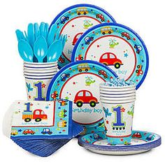All Aboard 1st Birthday Party Ideas & Supplies | WholesalePartySupplies.com