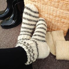 3 Pack Ladies Thick Warm Soft Top Wool Cushioned Knee High Wellington Boot Socks