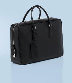 39a62c123c Prada - Men s Briefcase (Saffiano Leather)   Pin++ for Pinterest   Designer  Handbags Outlet