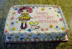 Cake idea - upside you can pick your own loopsy doll and decorate however you'd like!