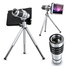 Product standard: 1:12 times metal lens After the 2:NOTE2 shell 3: tripod 4: cloth bags 5: the description says 6: wiping cloth Existing housing are: Apple: IPHONE4/4S IPHONE5/5S IPHONE5C IPHONE6 Samsung: I9300/S3 I9500/S4/S5/S6 NOTE2/N7100/ NOTE3/ NOTE4 Millet: 2S/4 HTC:ONE/M7 Sony: LT36 Nokia: 920 Product description: 1, this product is a mobile external camera (similar to ...