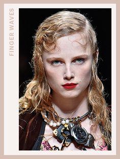 Fashion Week Hair - Prada | allure.com