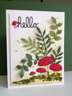 Hope everyone had a wonderful Thanksgiving! My card today features those cute little Forest...