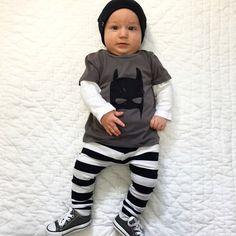 Baby clothing set-Batman-Shirt   Pant 2pcs Baby Boy Batman, Baby Suit, Baby Boy T Shirt, Newborn Outfits, Baby Outfits, Boys T Shirts, Batman Clothing, Girl Clothing, Clothing Sets