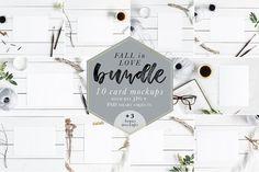 Fall In Love Bundle Mockups + Bonus by Gabriela Dantur on @creativemarket
