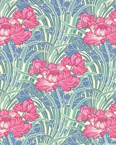 Art Nouveau - William Morris Rose - Ivory