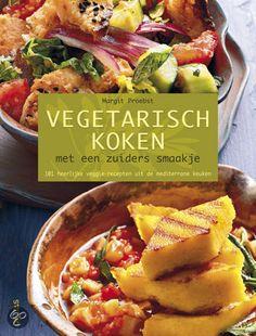 VEGETARISCH KOKEN MET EEN ZUIDERS SMAAKJE - Margit Proebst - 9789044730630. Wedden dat u met de heerlijke vegetarische gerechten in dit boek helemaal in vakantiestemming komt? Laat u verleiden door de intense aroma's, de eenvoudige ingrediënten en de typische kruiden en specerijen uit de keukens rond de Middellandse Zee. GRATIS VERZENDING - BESTELLEN BIJ TOPBOOKS VIA BOL COM OF VERDER LEZEN? KLIK OP BOVENSTAANDE FOTO!
