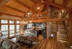063 Small Log Cabin Homes Ideas