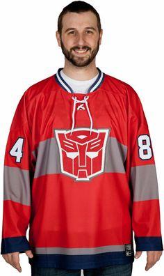 Optimus Prime Hockey Jersey c6984d4e7