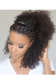 Natural Hairstyles For Work Confidently Match Natural Hairstyles And Work Environment