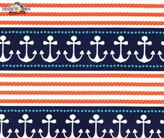Ahoy Matey, Stay The Course Navy, Fabric by Michael Miller    #sewdollyclackett