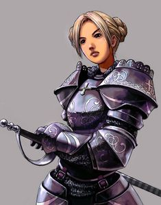 Women Fighters In Reasonable Armor | Rocking Fundas