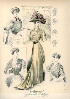 Gracieuse. Geïllustreerde Aglaja, 1908, aflevering 12, pagina 192/1