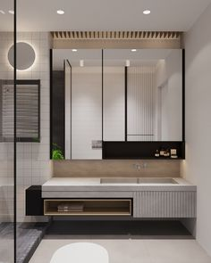 Three Industrial Style Lofts WIth Natural Accents bathroom Washroom Design, Vanity Design, Toilet Design, Bathroom Design Luxury, Industrial Bathroom Design, Industrial Kitchens, Bad Inspiration, Bathroom Inspiration, Bathroom Toilets