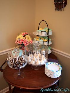 Boy Baby Shower Sweets Table