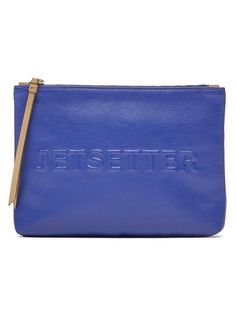 Embossed Conversational Pouch