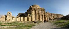 Sasanian (Palace at Firuzabad) - Ardashir I's Palace at Firuzabad, 3rd century AD