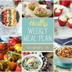 Healthy Meal Plan Week #4