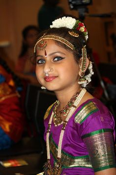 COSTUMED FOR BHARATA NATYAM by SUNNY AUGUSTINE