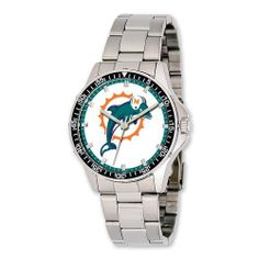 Mens NFL Miami Dolphins Coach Watch Jewelry Adviser Nfl Watches. $70.00. Save 60%!