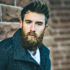 When pro #hockey player Tristan Cameron-Harper (@tristancameronharper) isn't doing damaging on the rink for @braeheadclan, he's keeping his #beard pretty damn dapper on the streets of Scottland. by @TomCairns #beards #beardlife
