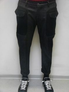 Pantalon homme gris chiné Dsquared2