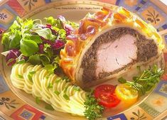 Wellington szűzpecsenye Cheesesteak, Fresh Rolls, Pork, Breakfast, Ethnic Recipes, Kale Stir Fry, Morning Coffee, Pork Chops