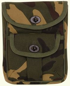 Private Island Party  - 2 Pocket Ammo Pouch Wallet Camouflage 3351, $7.99   2 Pocket Ammo Pouch Wallet Camouflage is great for any outdoors activities. Large main pocket and smaller front pocket convenient access to parts or tools. 2 Pocket Ammo Pouch Wallet Camouflage perfect for storing cell phones, GPS devices, cameras, medical supplies, flashlights, small tools, and everything else you need readily accessible. Army style. Twist locks, belt loops on back.