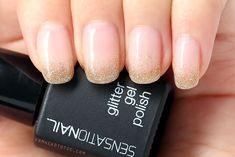 Manicure Monday: Sensationail Gold Glitter Gradient
