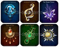 DeviantArt: More Like Amulet - ManyMoons by Rittik