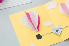 Surprise Mom With a Pop-Up Card This Mother's Day via Brit + Co.