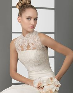 Lace overlay satin ruched sheath dress